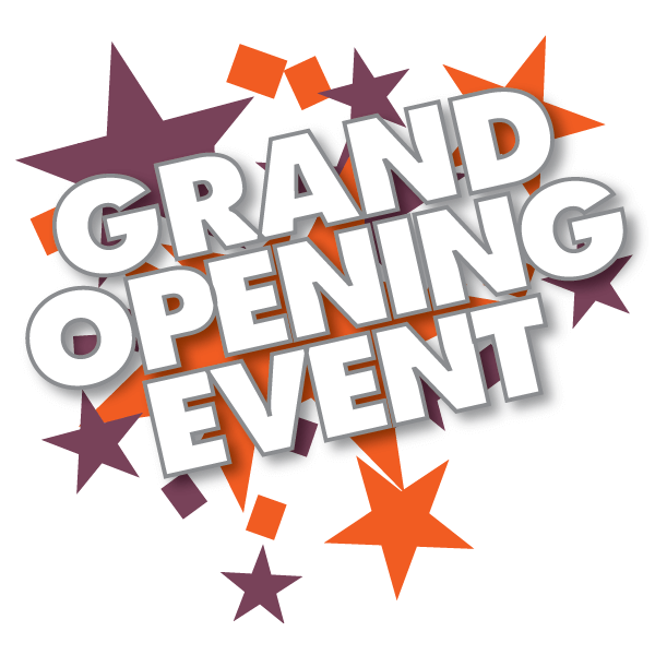 event grand opening sizzle
